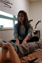 คลิปหลุดนักเรียนหญิงแอบนัดหนุ่มมานวดกระเจี๊ยวโดนเย็ดคาห้อง